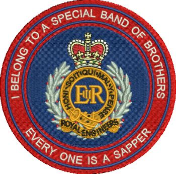 Special Band of Brothers Embroidered Badge